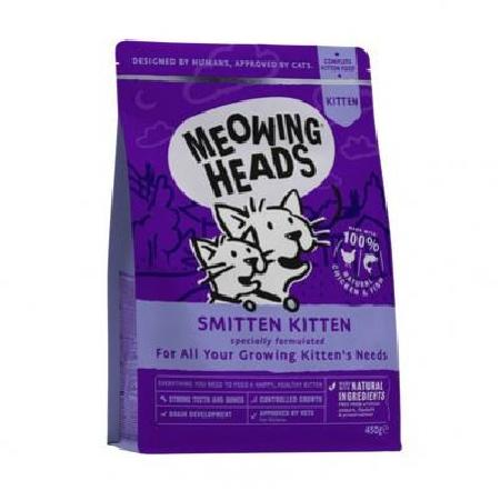 Barking Heads корм для котят всех пород, курица и рис Восторженный котенок 450 гр