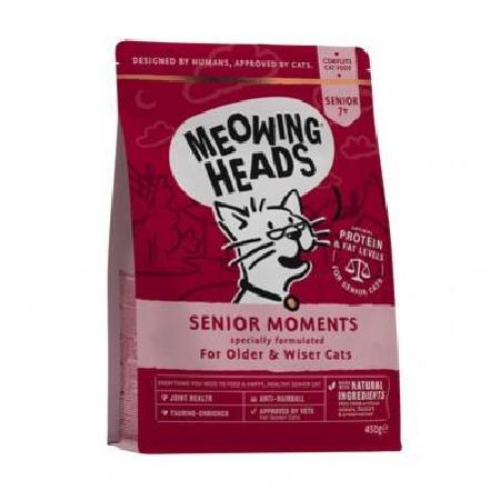 Barking Heads корм для пожилых кошек всех пород, лосось и яйцо Мудрые года 450 гр