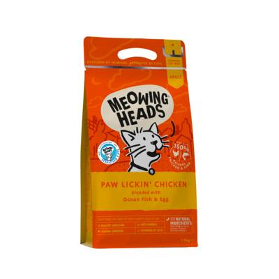 Barking Heads Для Взрослых кошек с Курицей и рисом Куриное наслаждение MCK1, 1,500 кг