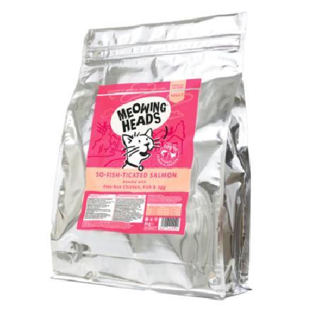 Barking Heads Для Взрослых кошек с Лососем, курицей и рисом Фиш-гурман MSL8, 8,000 кг