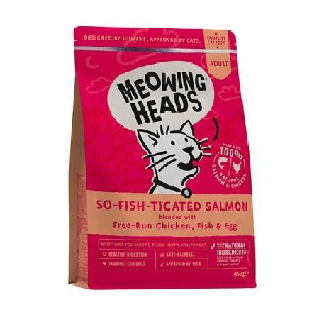 Barking Heads ВИА Для Взрослых кошек с Лососем, курицей и рисом Мурлыка PN250, 0,25 кг, 20127