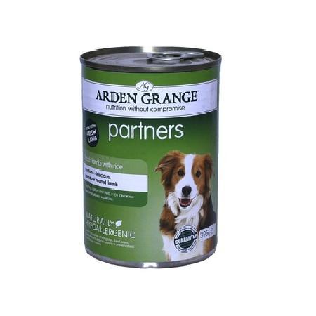 Arden Grange влажный корм для взрослых собак всех пород, ягненок и рис 395 гр