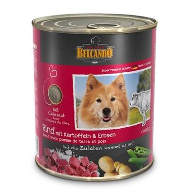 Belcando влажный корм для взрослых собак всех пород, говядина с картофелем и горохом 400 гр