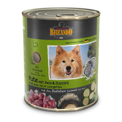 Belcando Консервы для собак с  индейкой 51310520, 0,800 кг, 37574