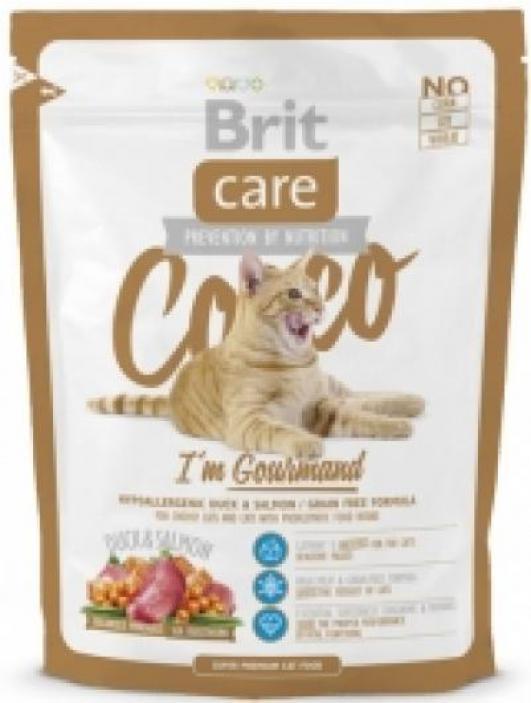 Brit Care корм для взрослых кошек всех пород, беззерновой, гипоаллергенный 400 гр