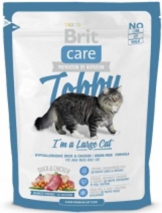 **Брит Care 13000 Tobby сух.дкрупных кошек 400г
