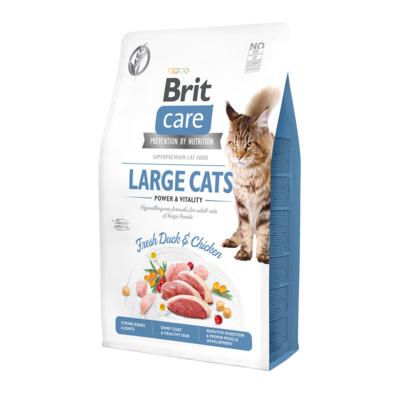 Brit ВИА Сухой корм Care  для кошек крупных пород с уткой и курицей 512980, 7,000 кг, 42155