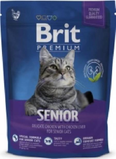 Brit Premium корм для пожилых кошек всех пород, курица 300 гр