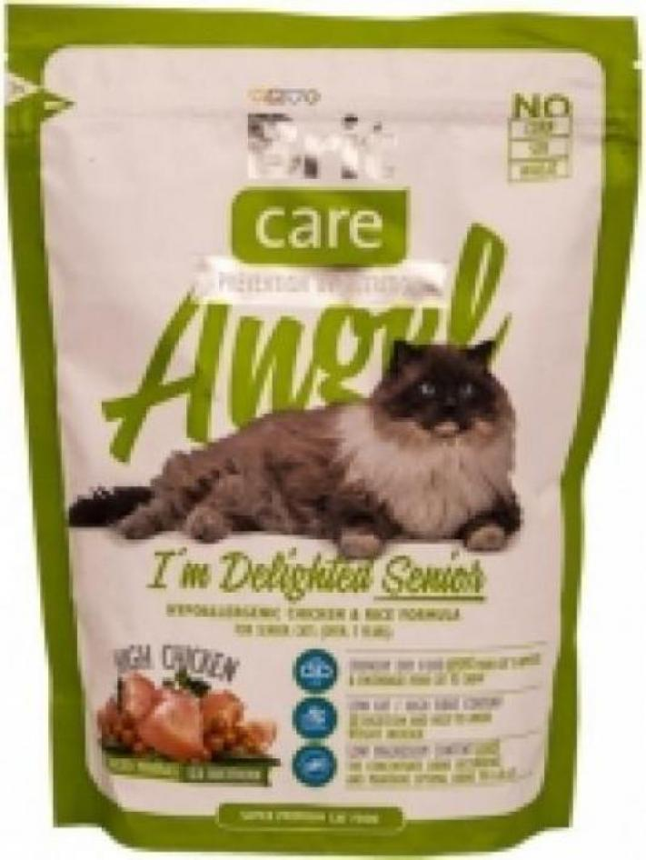 Brit Care корм для пожилых кошек всех пород, курица 400 гр