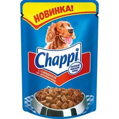 Chappi ВИА Паучи для собак - говядин по домаш, 10114994, 0,100 кг