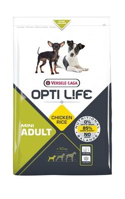 Opti Life корм для собак мелких пород, курица и рис 1 кг