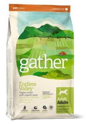 GATHER Органический веганкорм для собак (GATHER Endless Valley Vegan DF) 4301206, 2,720 кг, 46663
