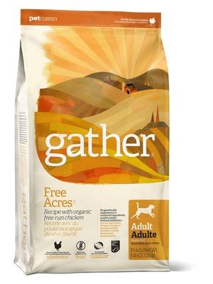 GATHER Органический корм для собак с курицей (GATHER Free Acres Chicken DF) 4301016, 7,260 кг, 46658