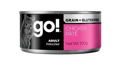 Go! Консервы ВИА Консервы беззерновые с курицей для кошек (GO! Grain Free Chicken Pate CF) 126-5021, 0,100 кг, 28013