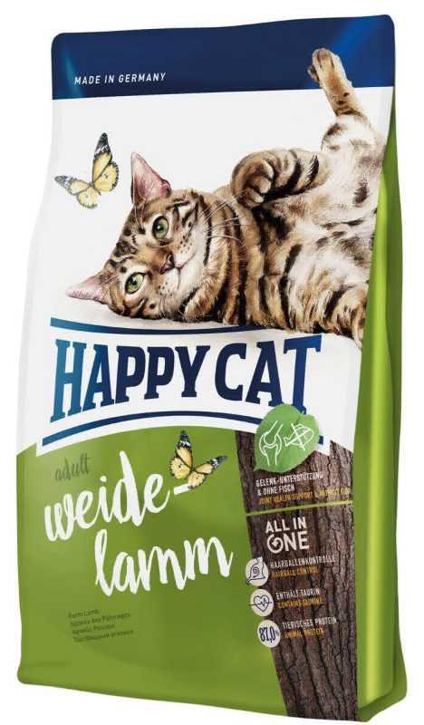 Happy Cat дк ФитВелл при чувствительном пищеварении с ягнёнком 4 кг