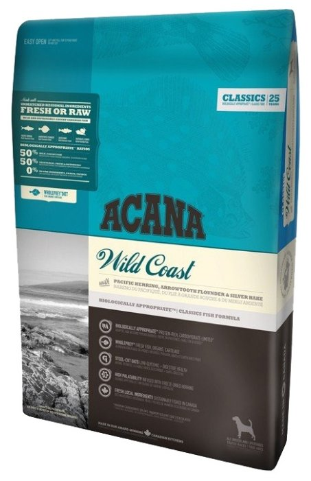 Acana Classics корм для взрослых собак всех пород, рыба 17 кг