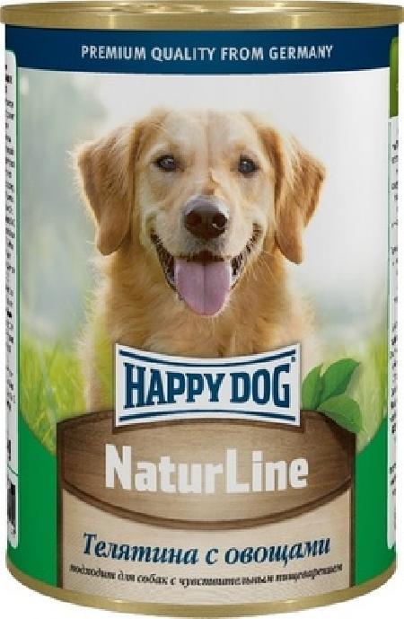 Happy Dog влажный корм для взрослых собак всех пород, с овощами 400 гр