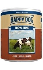 Happy Dog влажный корм для взрослых и пожилых собак всех пород, мясо 400 гр