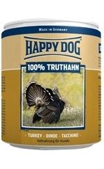 Happy Dog влажный корм для взрослых и пожилых собак всех пород, индейка 400 гр
