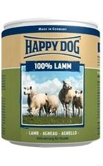 Happy Dog влажный корм для взрослых и пожилых собак всех пород, ягненок 400 гр