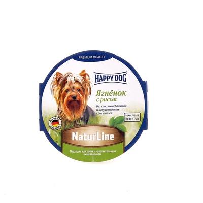 Happy Dog влажный корм для взрослых и пожилых собак всех пород, ягненок и рис 85 гр