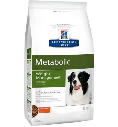 Hills Prescription Diet Сухой корм для собак Metabolic улучшение метаболизма (коррекция веса) 2097U, 1,500 кг