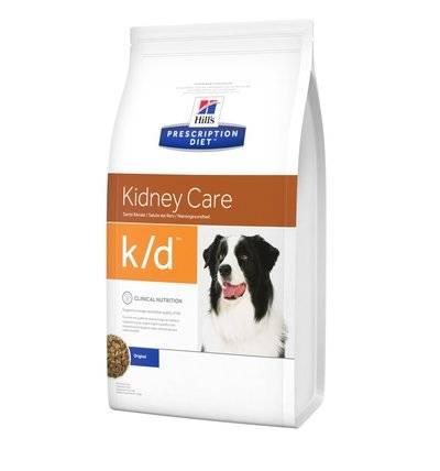 Hills Prescription Diet Сухой корм для собак K/D лечение почек (Renal) 8658U, 2,000 кг
