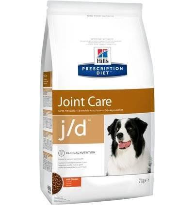 Hills Prescription Diet Сухой корм для собак J/D лечение суставов (Mobility Canin) 4516U, 2,000 кг