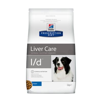Hills Prescription Diet Сухой корм для собак  L/D лечение печени (Hepatic) 8660U, 2,000 кг