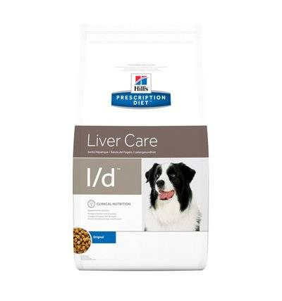 Hills Prescription Diet Сухой корм для собак L/D лечение печени (Hepatic) 7339R, 5,000 кг