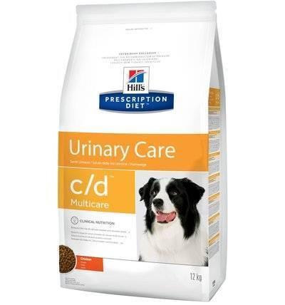 Hills Prescription Diet Сухой корм для собак C/D лечение мочекаменной болезни, струвитов (Urinary) 9176N, 12,000 кг