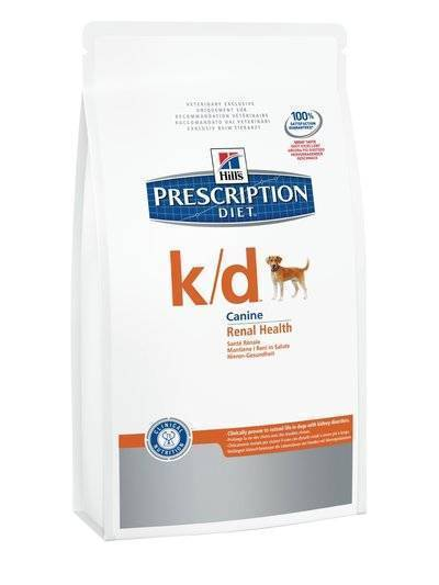 Hills Prescription Diet Сухой корм для собак K/D лечение почек (Renal) 9182N, 12,000 кг