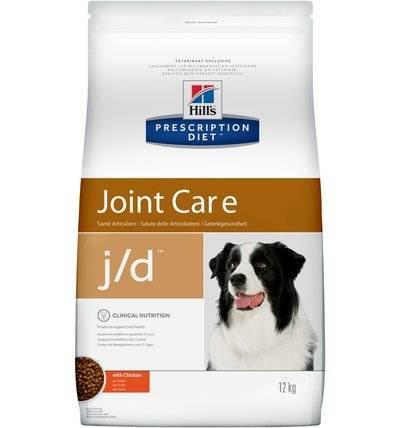 Hills Prescription Diet Сухой корм для собак J/D лечение суставов (Mobility Canin) 9183M, 12,000 кг