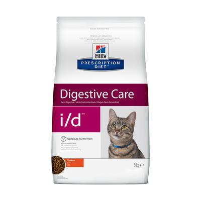 Hills Diet i/d корм для взрослых и пожилых кошек всех пород, поддержание здоровья ЖКТ, курица 1,5 кг