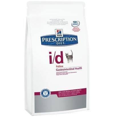 Hills Diet i/d корм для взрослых и пожилых кошек всех пород, поддержание здоровья ЖКТ, курица 400 гр
