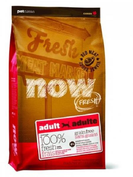 NOW Fresh корм для взрослых собак всех пород, беззерновой, свинина и ягненок 11,35 кг
