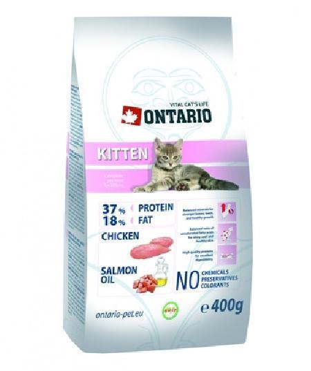 Ontario корм для котят, с курицей 400 гр