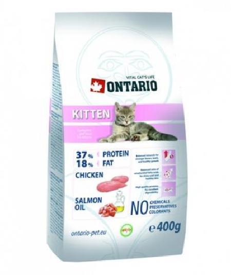 Ontario корм для котят, с курицей 2 кг
