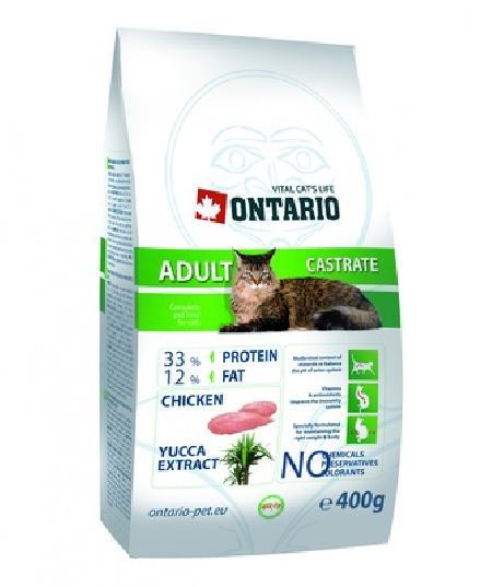 Ontario Для  кастрированных кошек (ONTARIO Adult Castrate 10kg) 213-0059, 10,000 кг, 20781