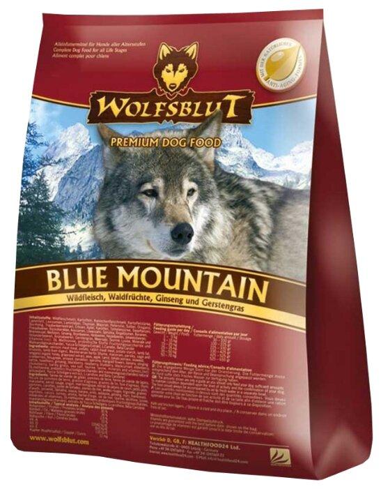 Wolfsblut Корм Blue Mountain (Голубая гора для взрослых собак) 15 кг, WBBM15