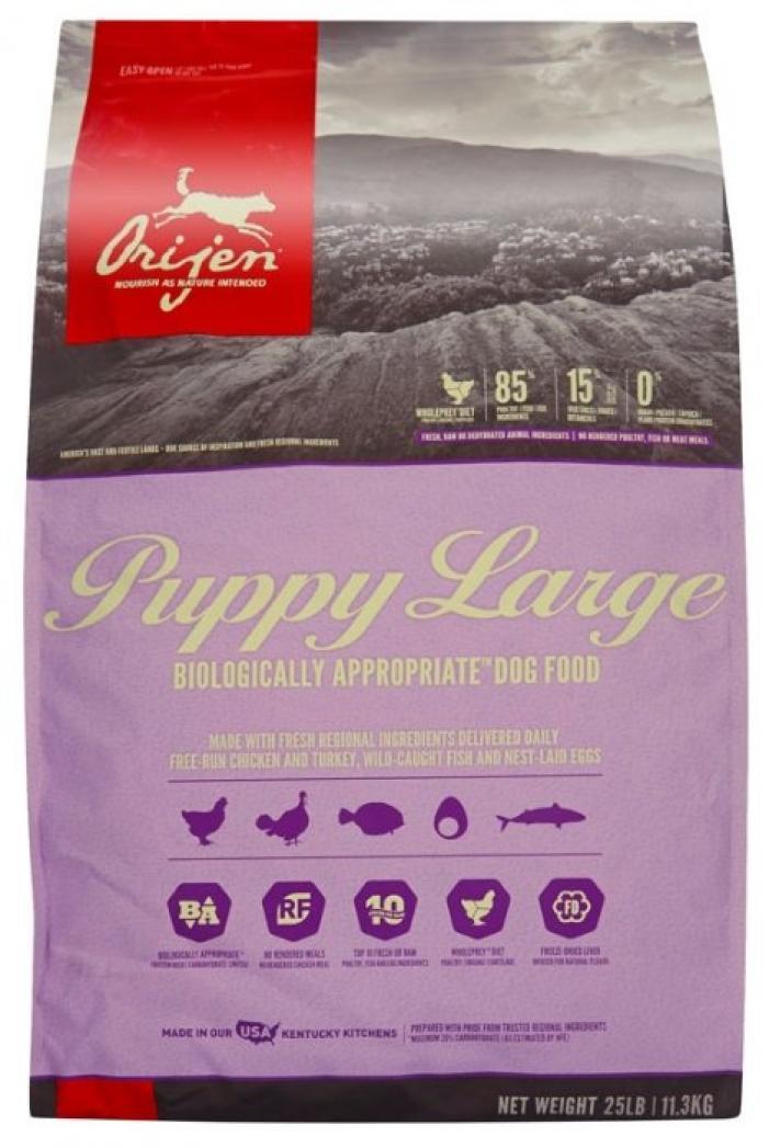 Orijen Для щенков крупных пород (Puppy Large breed), 11,4 кг, 40677