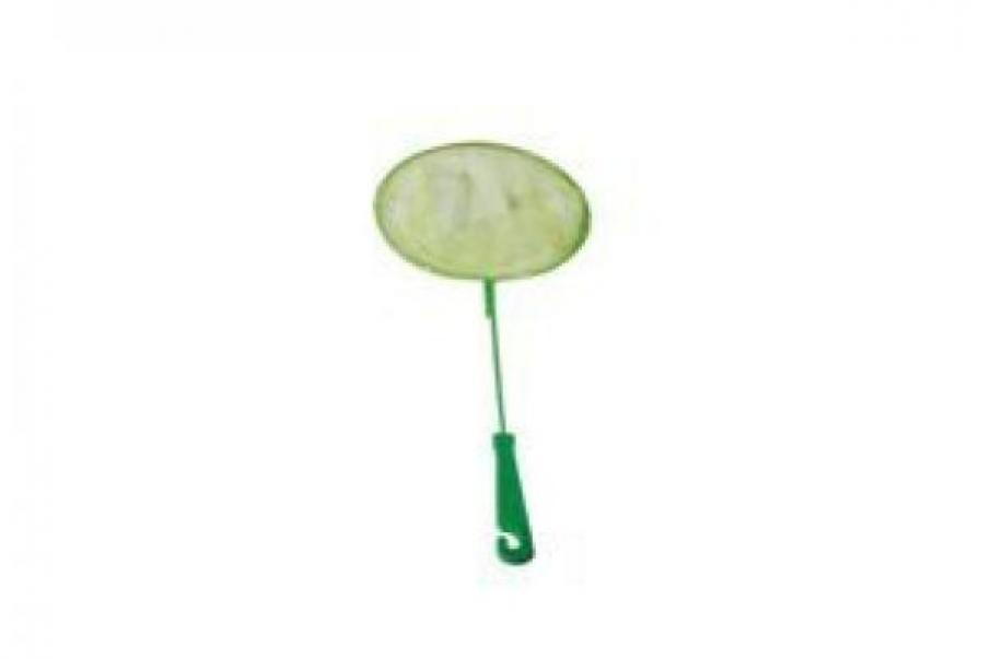 Redplastic Сачок аквариумный, круглый, D 120 (металл) пластиковая ручка, RP7066