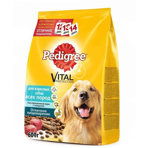 Pedigree корм для взрослых собак всех пород, говядина 13 кг
