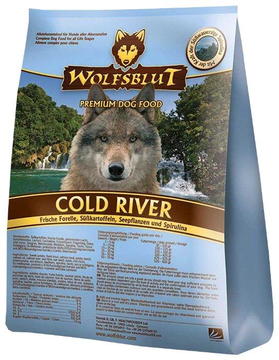 Wolfsblut Корм Cold River (Холодная река для взрослых собак) 15 кг, WBCR15