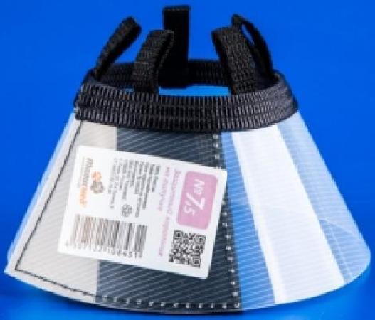 Аренда: Талисмед Воротник пластиковый защитный на липучке №7,5, обхват шеи 21-26см, 24850