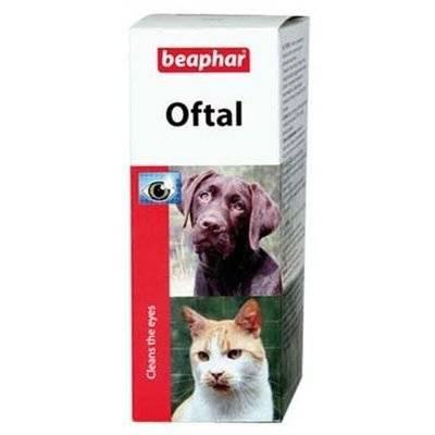 Beaphar Лосьон для ухода за глазами животных (Oftal) 12547, 0,050 кг