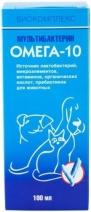 (t) Мультибактерин Омега-10 пробиотик для поддержания и восстановления микрофлоры ЖКТ 100мл