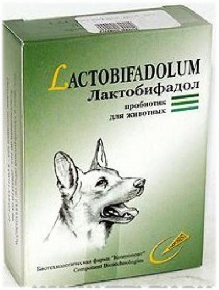 (t) Лактобифадол форте пробиотик дкошек 50г