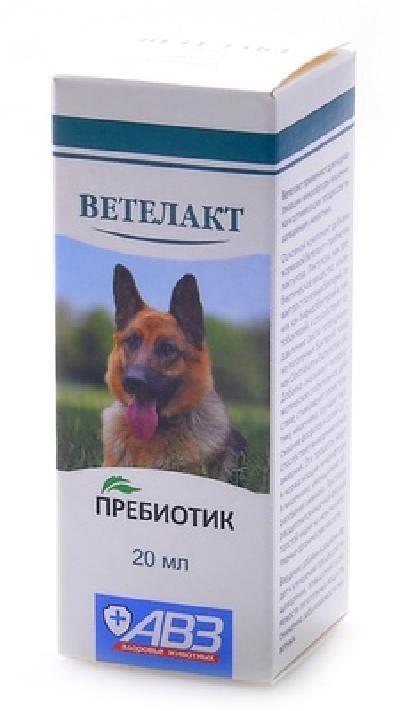 Агроветзащита Ветелакт Пребиотик д/нормализации микрофлоры кишечника у животных, 0,020 кг