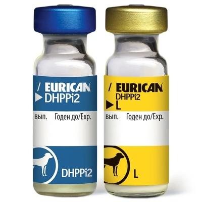 Boehringer Ingelheim (Merial) (ВАЖНО t° +2° +8°!!!) Вакцина Эурикан DHHPPi+L, 10 доз/уп. 8527, 0,001 кг